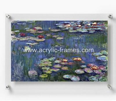 A4 floating frame