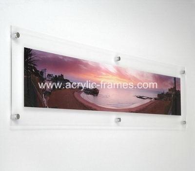 Buy floating frame, customized acrylic floating frame from factory