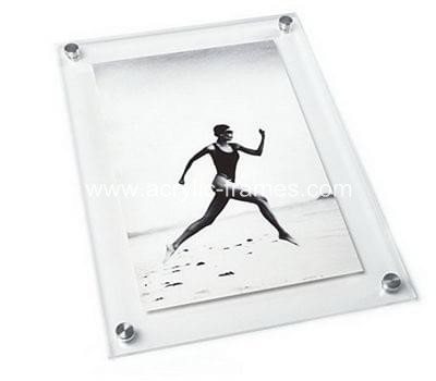 Acrylic poster frames