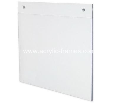 Clear poster frames , Acrylic frames for posters, custom by factory.