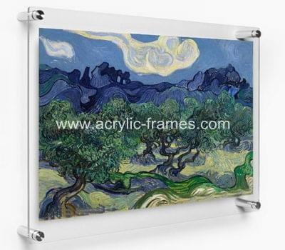 Plexiglass poster frames