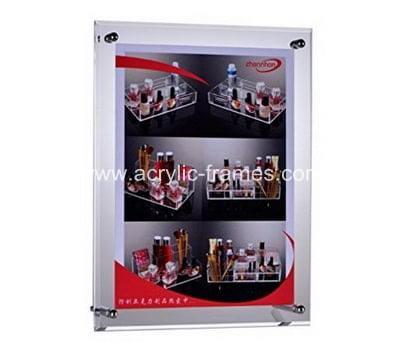 Frameless clear acrylic poster frames