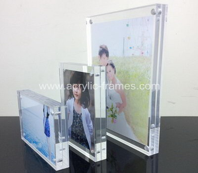 China Acrylic Factory Customize Acrylic Magnetic Picture Frames