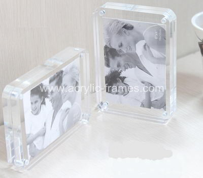 Acrylic photo frames, custom acrylic picture frames, China factory sales