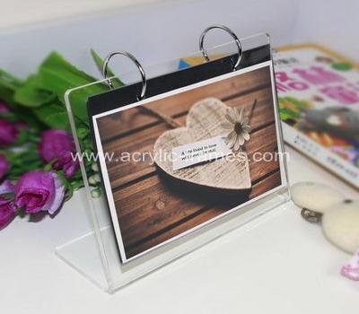 Plexiglass photo frame