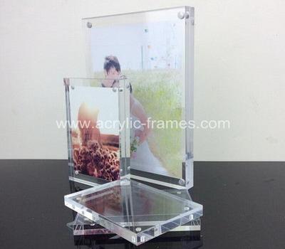 Frameless plexiglass frames