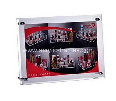 Perspex display frames