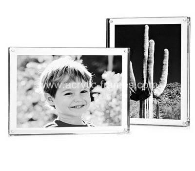 Perspex magnetic photo frames