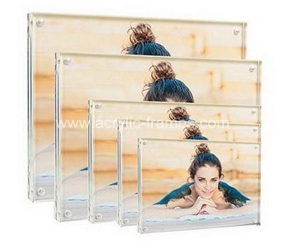 Clear perspex frames