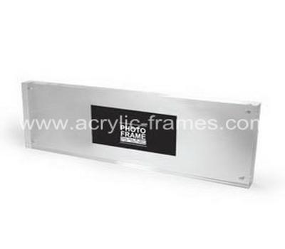 Perspex block photo frames