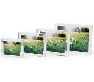 Photo block frame