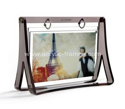 Large perspex frames