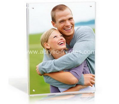 Clear perspex photo frames