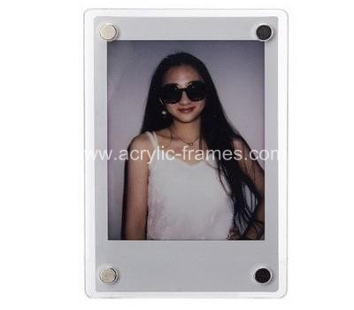 Floating acrylic frame